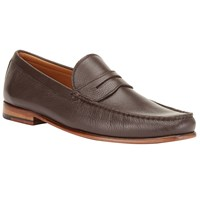 John Lewis Lloyd Penny Loafers Brown