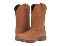 Dan Post Lawton Steel Toe Honey Cowboy Boots Tan