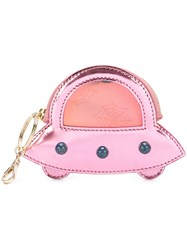 Charlotte Olympia 'Pocket Rocket' Coin Purse Pink And Purple