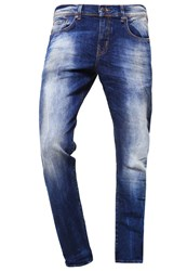 Ltb Diego Jeans Tapered Fit Ravi Undamaged Wash Dark Blue
