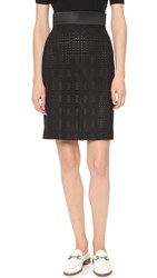 Ungaro Eyelet Skirt Multi