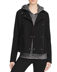 Velvet By Graham And Spencer French Terry Toni Jacket 100 Bloomingdale's Exclusive Black