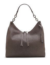 Vince Camuto Avin Chain Link Strap Leather Hobo Kale
