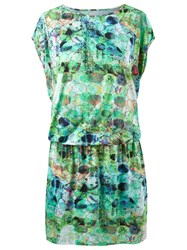 Lygia And Nanny Printed Tunic Dress Green