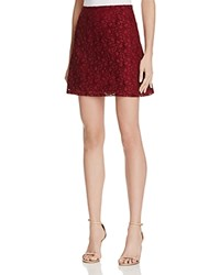 Necessary Objects Crochet Lace Mini Skirt Compare At 88 Rust