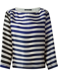 Sofie D'hoore Oversized Striped Blouse White