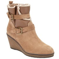 John Lewis Patrice Wedge Ankle Boots Neutral
