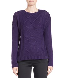 Buffalo David Bitton Textured Knit Pullover Crown Jewel