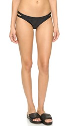 Helen Owen X Vitamin A Hipster Bottoms Eco Black Perforated