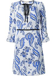Vanessa Bruno Flower Print Dress White