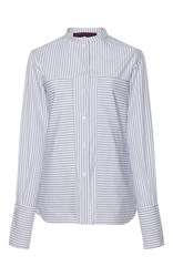 Martin Grant Extra Large Pocket Classic Shirt Stripe