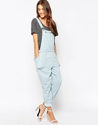 Blank Nyc Acid Wash Dungarees Easyaccess