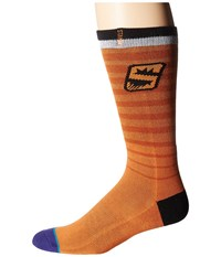 Stance Suns Arena Logo Orange Crew Cut Socks Shoes