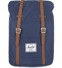 Herschel Supply Co Retreat Backpack Navy Tan Pu