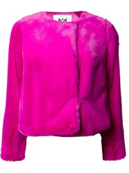 Milly Cropped Jacket Pink Purple