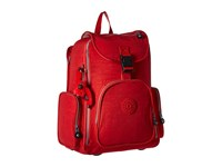 Kipling Alcatraz Ii Backpack With Laptop Protection Tomato Red Backpack Bags