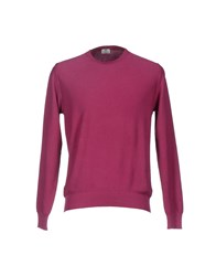 Luigi Borrelli Napoli Knitwear Jumpers Men Garnet