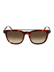 Bottega Veneta Tortoiseshell Square Framed Sunglasses