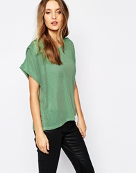 Y.A.S Dance T Shirt Green