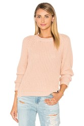 Maison Scotch Basic Pullover Sweater Peach