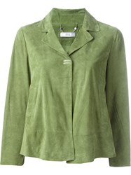Desa Collection Metal Appliqua Boxy Jacket Green