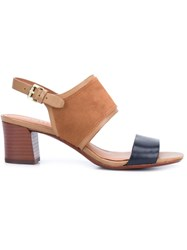 Derek Lam 10 Crosby Strap Sandals Brown