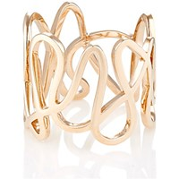 Repossi Women's Pink Gold White Noise Ring Pink