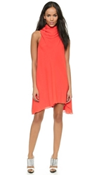 Camilla And Marc Bronzewing Draped Dress Vermillion