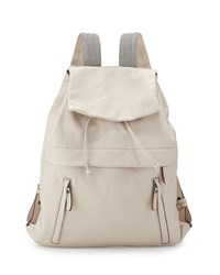 K Way Monili Lambskin Backpack Off White Brunello Cucinelli