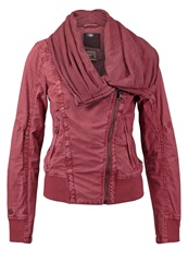 Khujo Jewel Summer Jacket Burgundy Bordeaux