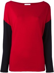 Societe Anonyme 'Funnel' Pullover Sweater Red