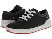 Mozo The Natural Low Canvas Black White Men's Lace Up Casual Shoes