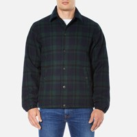 Edwin Men's Coach Jacket Black Watch Tartan