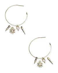 Kendra Scott Cindy Earrings Baroque Pearl White