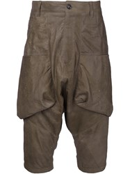 Alexandre Plokhov Drop Crotch Pants Brown