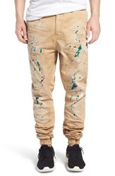 Men's Prps 'Damiana' Splatter Paint Stretch Woven Jogger Pants