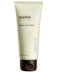 Ahava Mineral Foot Cream 3.4 Oz