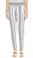 Blue Life Slouchy Pants Navy Stripe