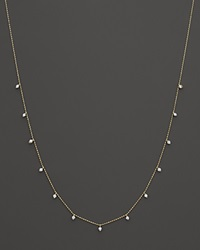 Bloomingdale's Diamond Station Necklace In 14K Yellow Gold .50 Ct. T.W.