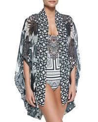 Open Front Cardigan Cape Coverup Wanderlust Camilla