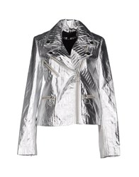 American Retro Coats And Jackets Jackets Women Silver