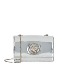 Versus By Versace Mini Chain Lion Shoulder Bag Silver