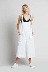 Free People Utility Culotte One Piece