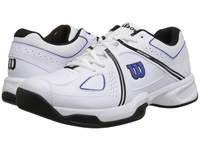 Wilson Nvision Envy White Black Blue Men's Tennis Shoes