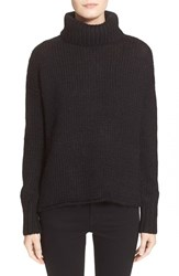 Women's Joie 'Irissa' Chunky Knit Turtleneck Sweater Caviar