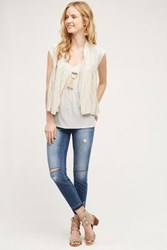 Anthropologie Jean Shop Patty Skinny Crop Jeans Tinted Denim 24 Pants