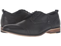 Steve Madden Jamyson Dark Grey Men's Lace Up Wing Tip Shoes Gray