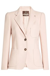 Roberto Cavalli Cotton Blazer With Silk Rose