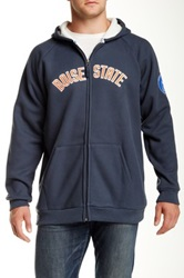 Donegal Bay Boise State Charcoal Fleece Jacket Gray