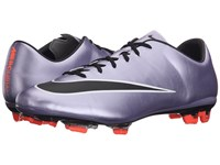 Nike Mercurial Veloce Ii Fg Urban Lilac Bright Mango Black Men's Soccer Shoes Gray